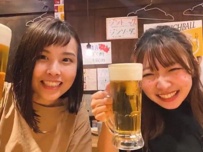 ちびまな&なっちょんの広島エキニシハシゴ酒①「すみびのジョー 駅西店」