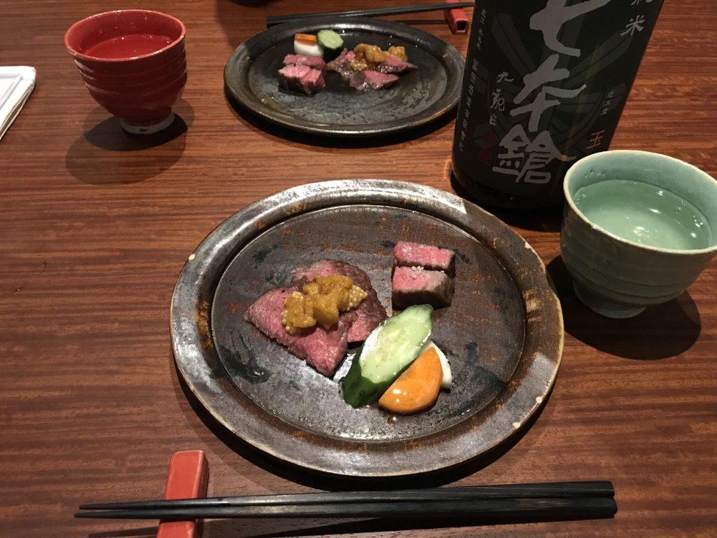 【焼きのお肉】二種盛り