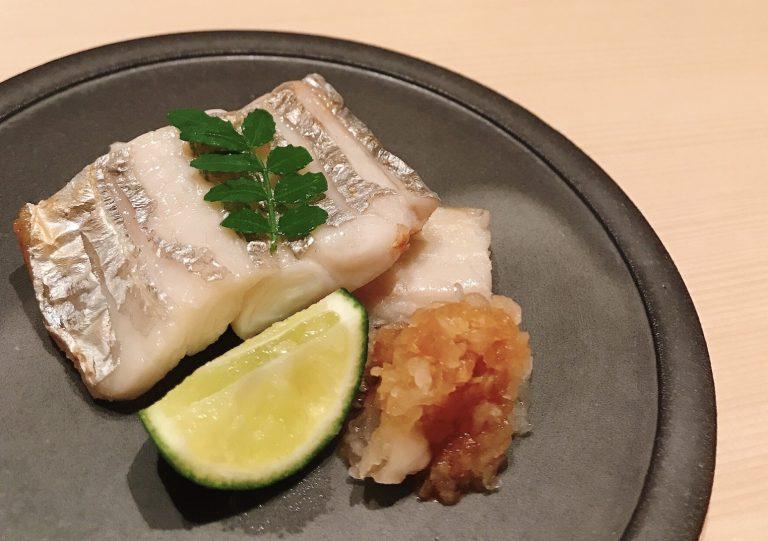 太刀魚の焼物